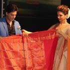 Shahrukh And Deepika Launches Palam Silk Saree