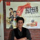 Shahrukh Khan Promotes Chennai Express At Mcdonalds