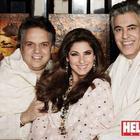 Abu Jani,Sandeep Khosla And Dimple Kapadia On The Cover Of HELLO