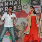 Shahrukh And Deepika Promote Chennai Express In Jalandhar