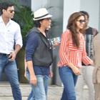 Shahrukh And Deepika Landed At Mumbai