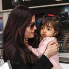 Beti B Latest Pic With Mom Aishwarya