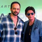 Shahrukh And Rohit Promote Chennai Express At K Lounge