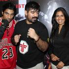 Prateik And Shazahn At Gold Gym's Mixed Martial Arts Event