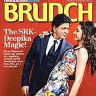 Shahrukh And Deepika Featured For The HT Brunch Weekly Magazine August 2013 Issue