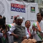 Anna Hazare At New York For India Day Parade