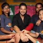Shreyas Celebrates Raksha Bandhan With The Akanksha Foundation Kids