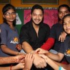 Shreyas Celebrates Raksha Bandhan With The Akanksha Foundation Kids