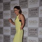 Actress Kareena At LFW To Support Her Sister Karisma