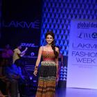 Aditi Rao Hydari Walks For Global Desi At LFW W/F 2013
