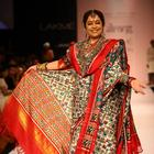 Kirron Kher The Showstopper For Gaurang Shah  LFW W/F 2013