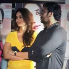 Kareena,Amrita,Ajay And Arjun Snapped At Satyagraha Promotions In Delhi