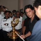 Shahrukh Khan At Prana Yoga Centre In Pune