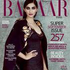 Sonam Kapoor Shoot For Harper's Bazaar September 2013 Issue