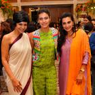 Kajol,Sridevi And Mandira At Araaish Fashion Exhibition