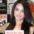 Neetu Chandra At Society Interiors Magazine September 2013 Issue Cover Launch Event