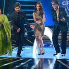 Shahid And Ileana On The Sets Of KBC