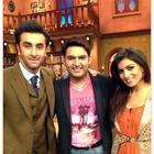 Ranbir Kapoor And Pallavi Sharda On The Sets Of Comedy Nights With Kapil