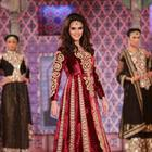 Neha Dhupia At Niki Mahajan Prive Couture Show 2013