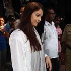 Bollywood Celebrities At Madhuri Dixi's Father Prayer Meet