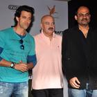 Hrithik And Rakesh Roshan Unveil First Look Launch Of Kid Krrish