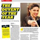 Shahrukh And Deepika Shoot For Khaleej Times Sep 2013 Issue