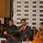 Ranbir, Rishi, Neetu, Pallavi At Besharam Promotions In London