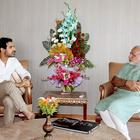 John Abraham Meets The Narendra Modi At Capital Office