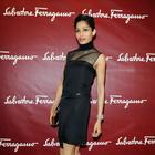 Freida Pinto At Salvatore Ferragamo Boutique Opening Event
