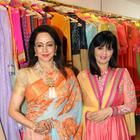 Hema Malini At Neeta Lulla's Flagship Store