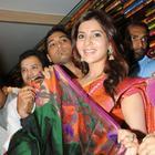 Samantha And Hamsa Nandini Launches Kalamandir Showroom In Hyderabad