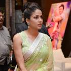 Lavanya Tripathi In Yellow Green Saree Hot Photos