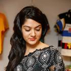 Sakshi Choudhary In Black Saree Hot Photos