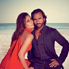 Kareena And Saif Grace Harper's Bazaar India October 2013 Edition