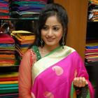 Madhavi Latha Launches Sreeja Fashions South Silk Festival 2013