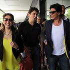Madhuri,Shah Rukh Return From Temptation Reloaded Tour