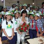 Priyanka Chopra Visits Holy Mother School To Support International Girl Child Day