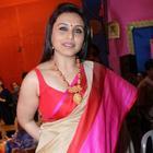 Rani Mukherjee Celebrates Durga Puja In Mumbai