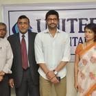 Amala At United Hospitals At Madhapur in Hyderabad