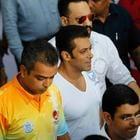 Salman Khan At Milind Deora Annual Junior Soccer Challenger Event