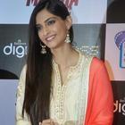 Sonam Kapoor At Bhaag Milkha Bhaag DVD Launch