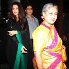 Aishwarya Rai Bachchan And Jaya Bachchan At Rehana Ghai's Birthday