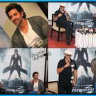 Hrithik And Rakesh Roshan At The Press Conference For Krrish 3 In Indore
