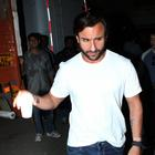 Saif Ali Khan Promotes Bullet Raja Movie At Mehboob Studios