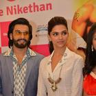 Ranveer Singh And Deepika Padukone Promote Ram-Leela In Hyderabad