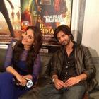 Shahid And Sonakshi Promote R..Rajkumar In Dubai