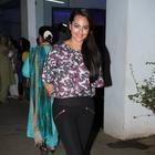 Sonakshi Sinha At The Special Screening Of Bullett Raja Movie