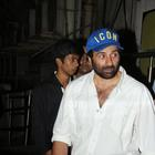Sunny Deol Snapped At PVR Theatre Mumbai