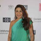 Celebs At The Government Of Catalonia's Spanish Fashion Show 2013