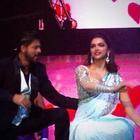 SRK,Madhuri And Deepika At Access All Areas Concert 2013